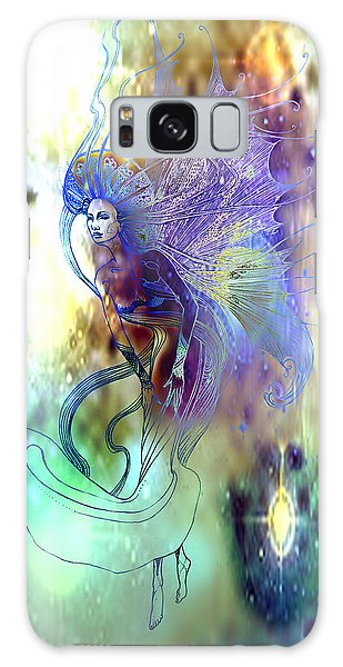 Light Dancer Galaxy Case by Ragen Mendenhall