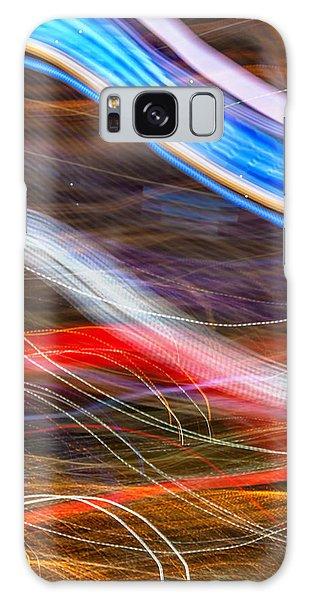 Colours Galaxy Case - Light Flow by Az Jackson
