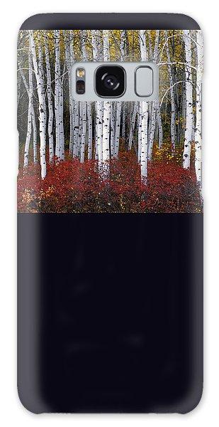 Popular Galaxy Case - Light In Forest by Leland D Howard