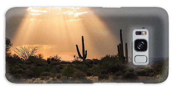 Light In The Desert Galaxy Case by Ruth Jolly