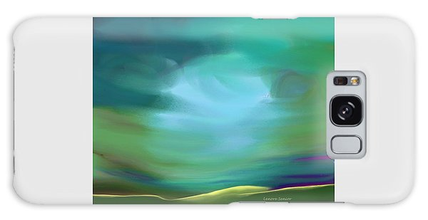 Light In The Storm Galaxy Case by Lenore Senior