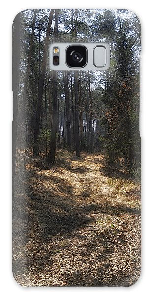 Light In The Wood Galaxy Case