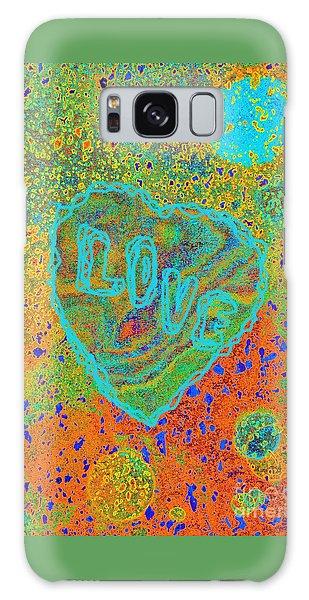 Light Love By Jasna Gopic Galaxy Case