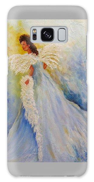 Light Of Grace,angel Galaxy Case