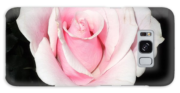 Light Pink Rose Galaxy Case