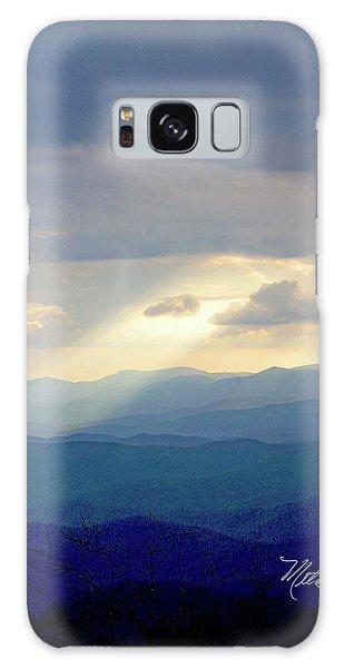 Light Ray Sunset Galaxy Case by Meta Gatschenberger