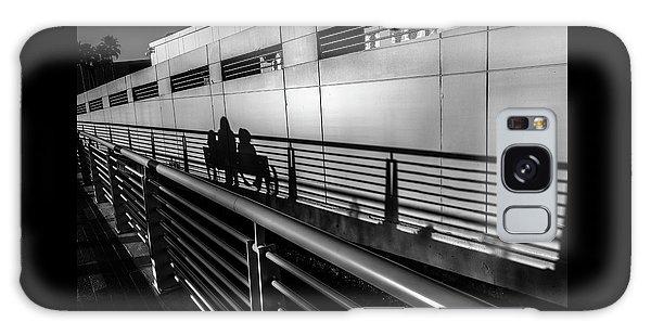 Board Walk Galaxy Case - Light Shadows by Marvin Spates