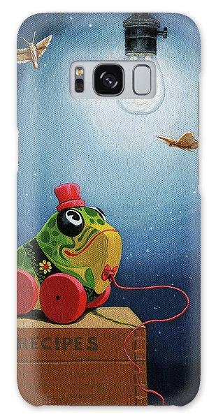 Light Snacks Original Whimsical Still Life Galaxy Case by Linda Apple