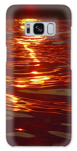 Light Stream - Lake Geneva Wisconsin Galaxy Case
