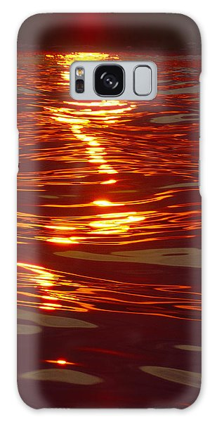 Light Stream - Lake Geneva Wisconsin Galaxy Case