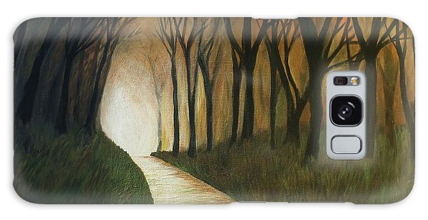 Light The Path Galaxy Case by Christy Saunders Church