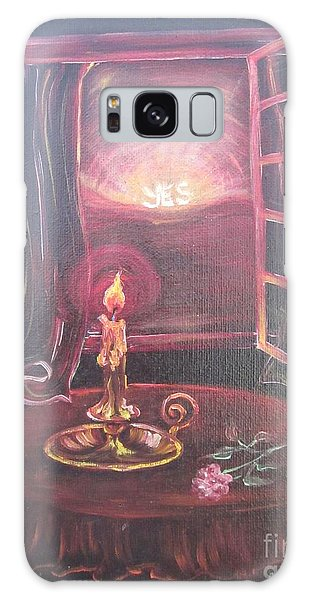 Flying Lamb Productions      Light The Yes Candle Galaxy Case