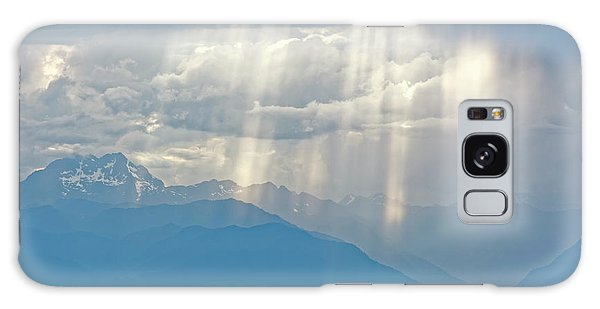 Light Through Clouds Galaxy Case