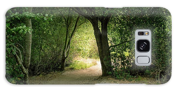 Light Through The Tree Tunnel Galaxy Case