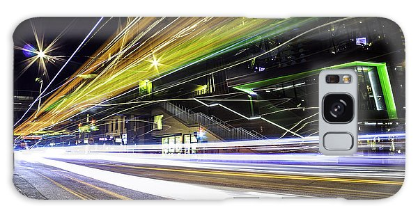 Neon Galaxy Case - Light Trails 1 by Nicklas Gustafsson