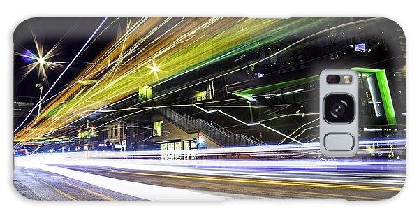 Long Exposure Galaxy Case - Light Trails 1 by Nicklas Gustafsson