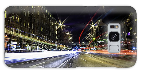 Neon Galaxy Case - Light Trails 2 by Nicklas Gustafsson
