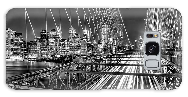East Galaxy Case - Light Trails Of Manhattan by Az Jackson
