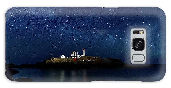 Light Up Nubble Lighthouse Galaxy Case