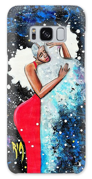 Galaxy Case - Light Years For Love by Artist RiA