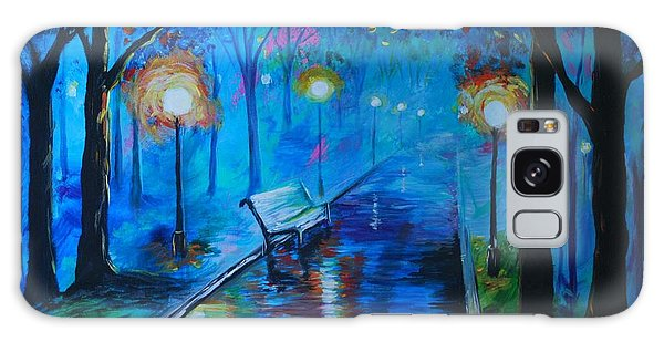 Lighted Parkway Galaxy Case by Leslie Allen