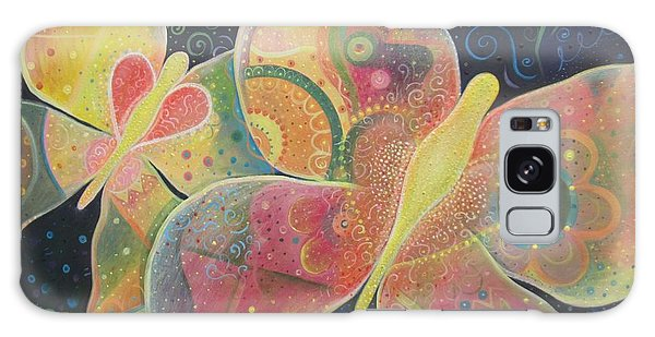 Lighthearted Galaxy Case by Helena Tiainen