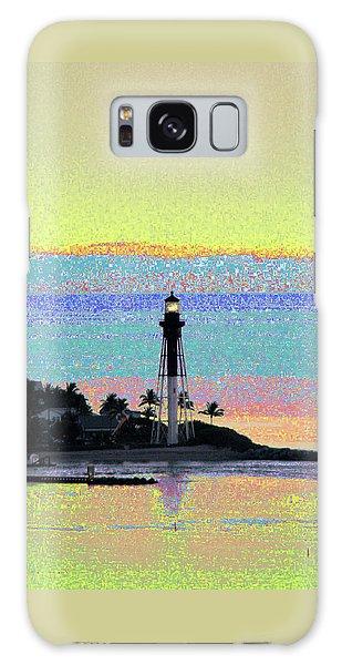 Luminous Florida Yellow At Hillsboro Lighthouse Galaxy Case