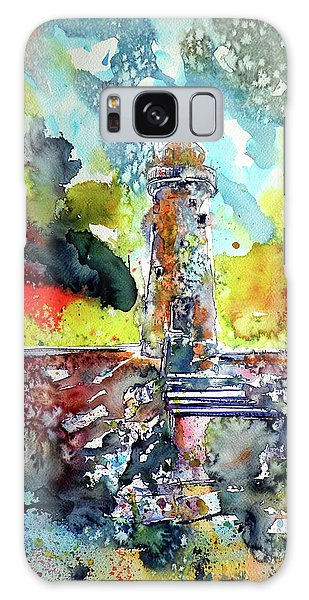 Lighthouse After Storm Galaxy Case by Kovacs Anna Brigitta