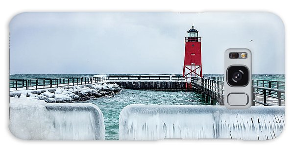 Lighthouse And Ice Galaxy Case