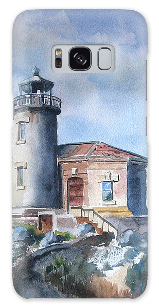 Galaxy Case - Lighthouse At Bandon by Richard Zunkel