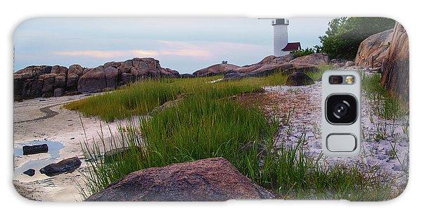 Lighthouse At Dusk Galaxy Case