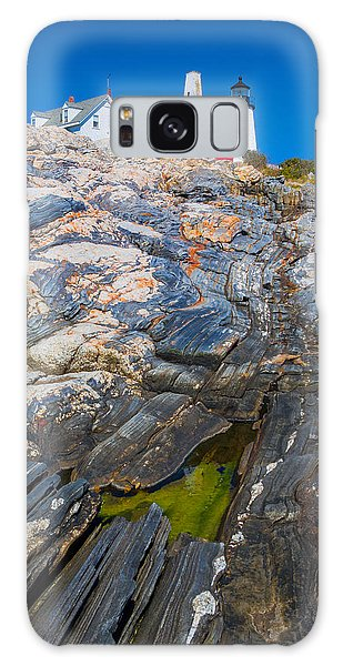 Otter Rock Galaxy Case - Lighthouse  by Emmanuel Panagiotakis