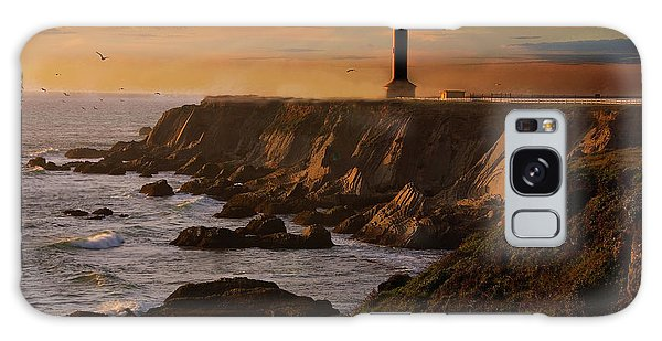 Lighthouse  Galaxy Case by Harry Spitz