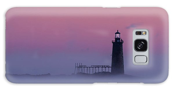 Lighthouse In The Clouds Galaxy Case