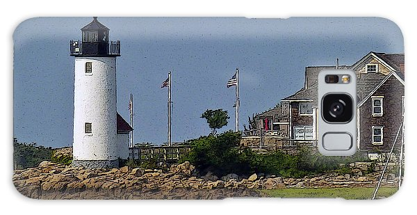 Lighthouse In The Ipswich Bay Galaxy Case