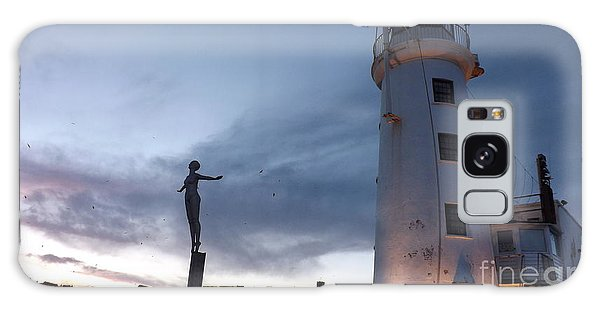 Lighthouse Lady 2 Galaxy Case
