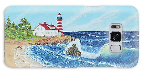 Lighthouse Life Galaxy Case