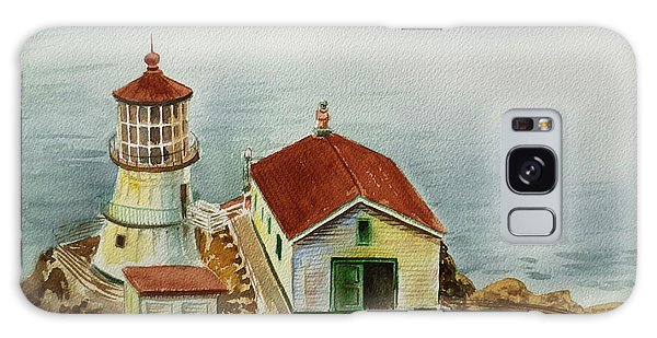 Lighthouse Point Reyes California Galaxy Case