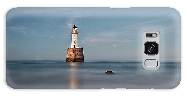 Galaxy Case featuring the photograph Lighthouse Twilight by Grant Glendinning
