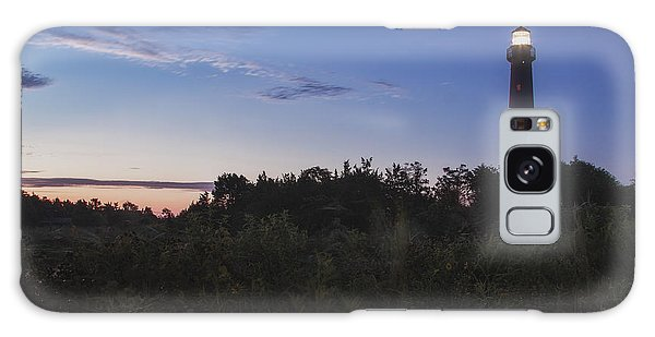 Lighthouse Summer Sunrise Galaxy Case