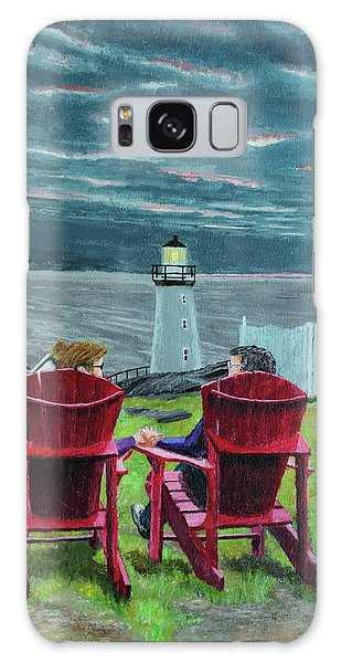 Lighthouse Lovers Galaxy Case