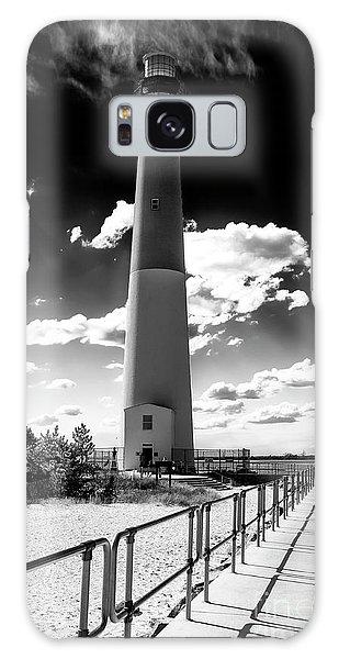 Lighthouse Walk Long Beach Island Galaxy Case