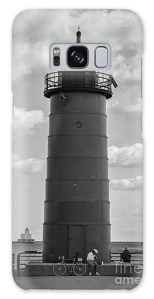 Lighthouses Of Milwaukee Galaxy Case
