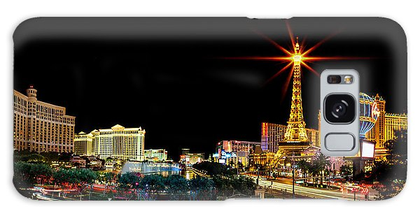 Lighting Up Vegas Galaxy Case by Az Jackson
