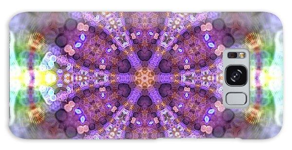 Galaxy Case featuring the digital art Lightmandala 6 Star 2 by Robert Thalmeier