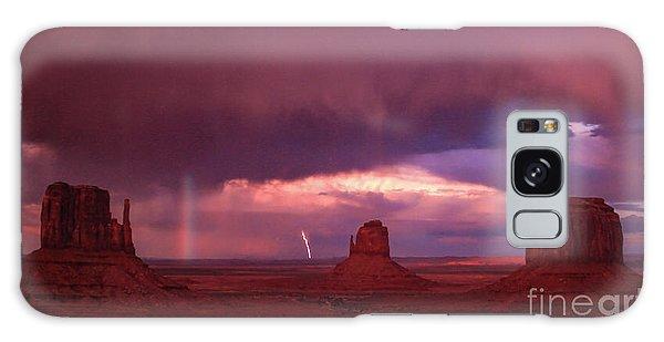 Lightning And Rainbow Galaxy Case