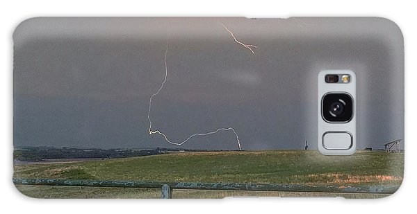 Lightning Bolt On A Scenic Route Galaxy Case