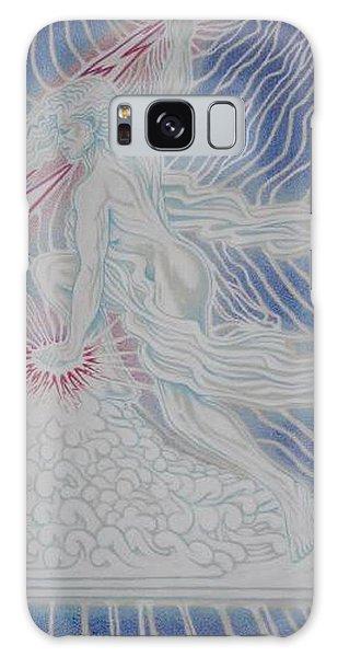 Galaxy Case - Lightning Goddess by Jacki Randall