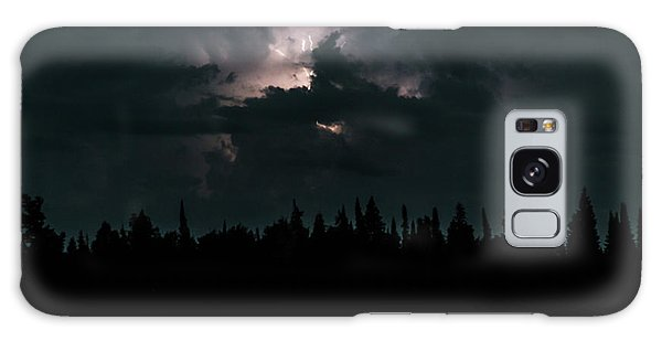 Lightning Storm Galaxy Case