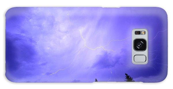 Lightning Storm Galaxy Case